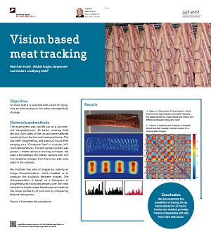 Vision based meat tracking