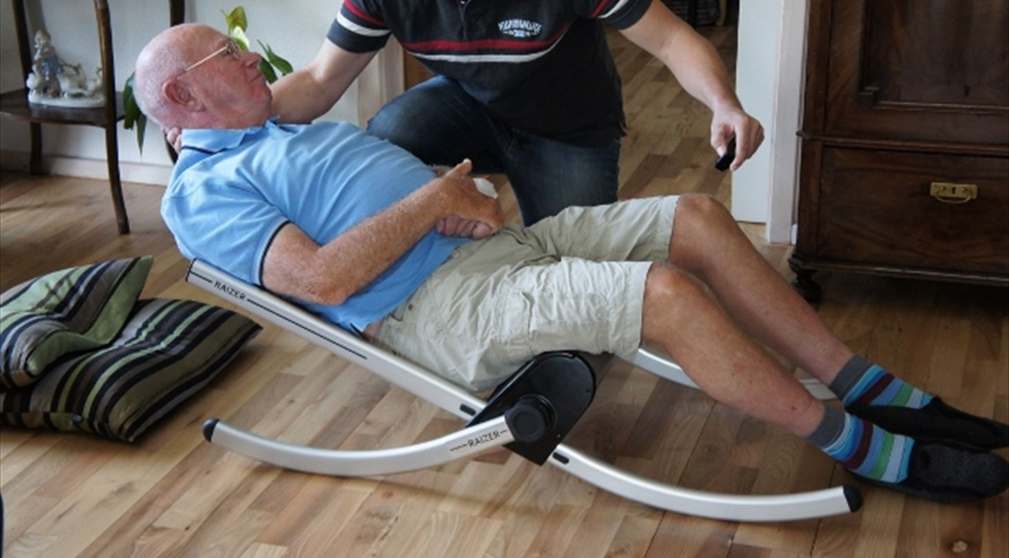 New assistive lift technology reduces risk of back injury for healthcare staff