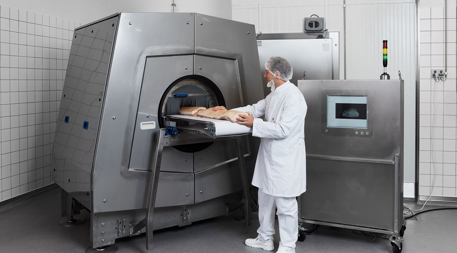 The world's first online CT scanner for food - Danish