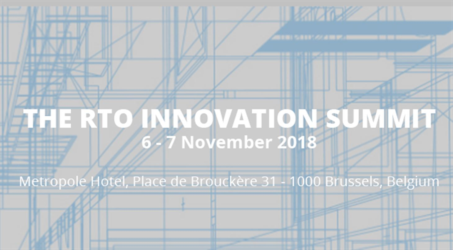 The RTO Innovation Summit Bruxelles