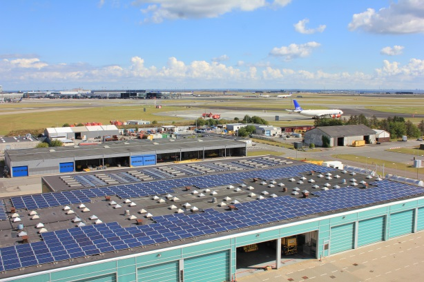 Solar cells - CPH airport